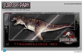 Jurassic Park Collector's Series packaging concept