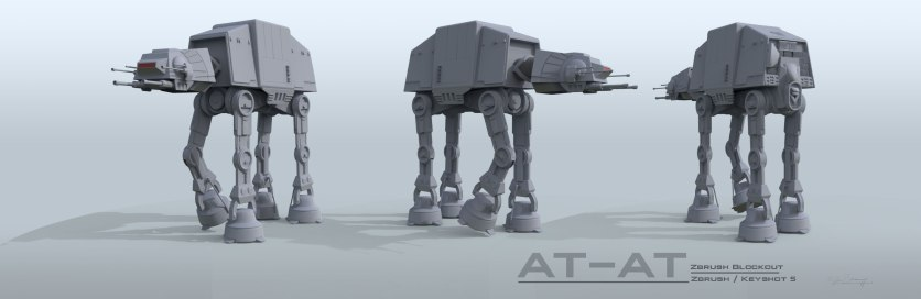 AT-AT Block Out Turnaround