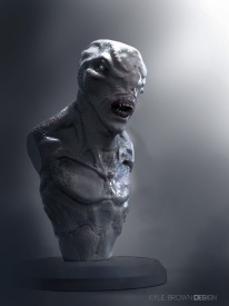 Creature Bust 4