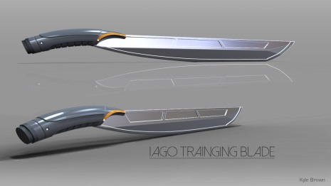 Iago Training Blade Concept Model